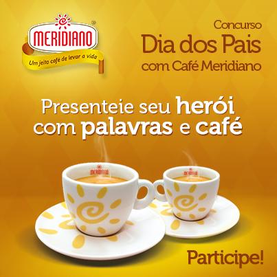Presenteie seu herói com palavras e café!