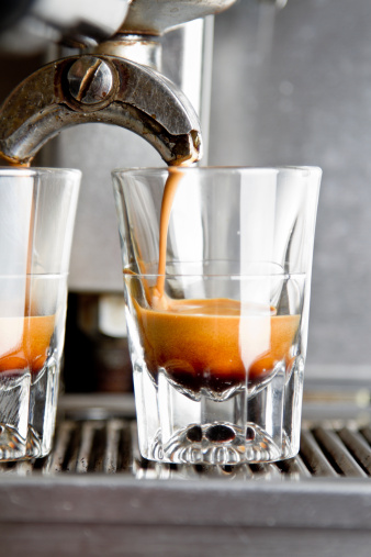 Café coado x Café espresso