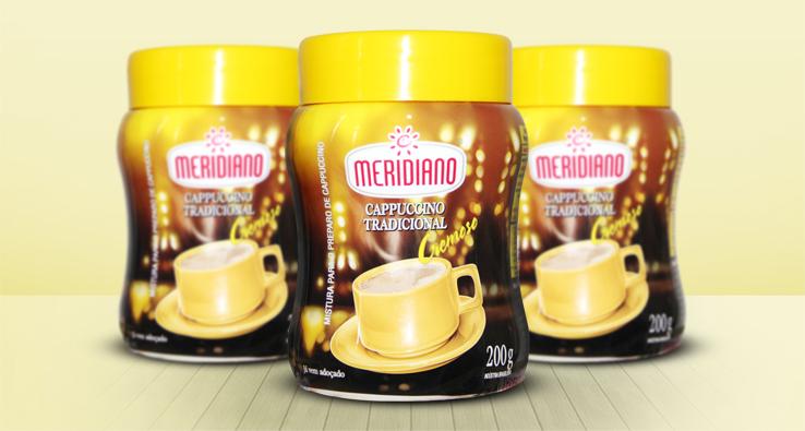 Cappuccino Meridiano Tradicional em nova embalagem!