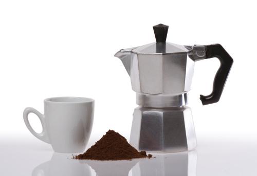 Recicle a sua cafeteira italiana
