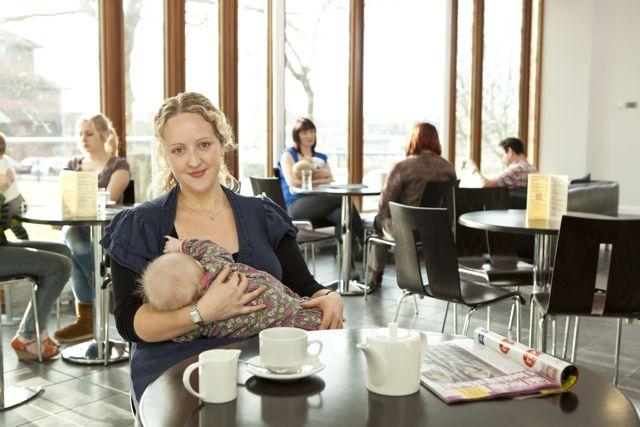 The Breastfeeding Cafe: um café especializado em amamentação