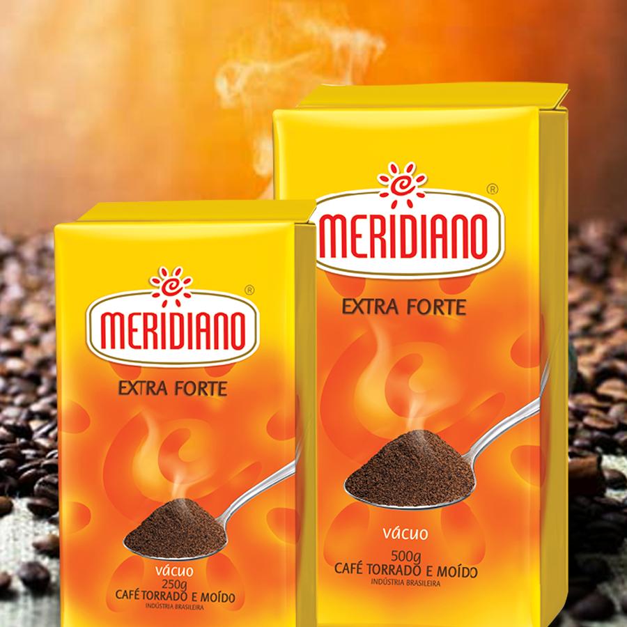 Café Meridiano lança nova embalagem da versão Extra Forte