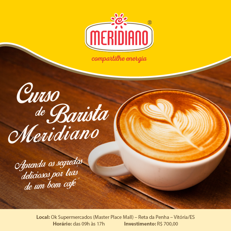 Curso de Barista do Café Meridiano.