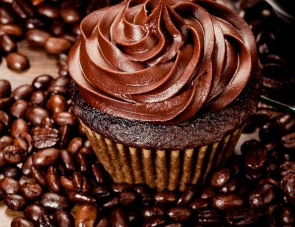 Cupcake com Recheio de Café