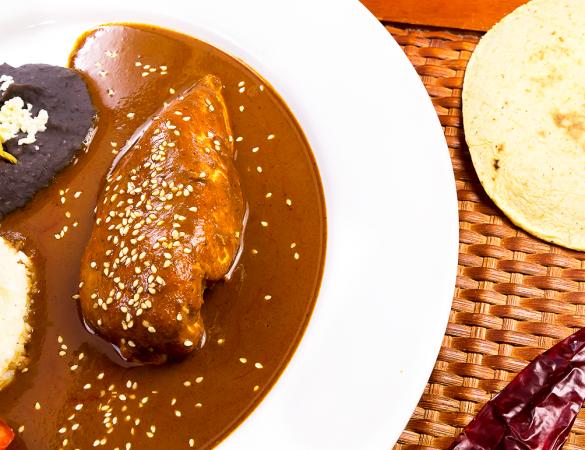 Receita de Mole Mexicano com Café