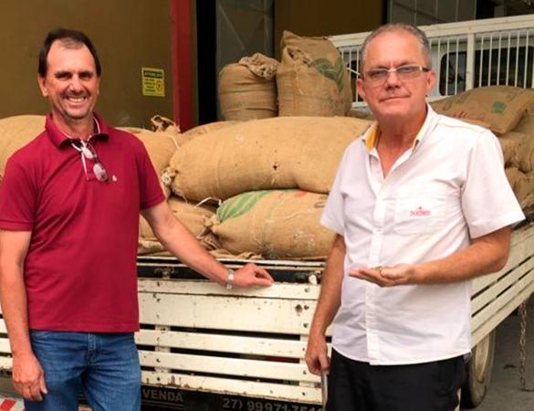 Meridiano compra lote de café finalista de concurso de conilon