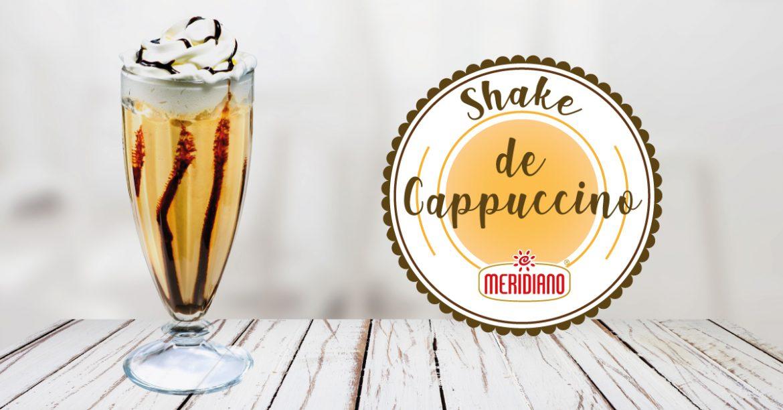 Receita Shake de Cappuccino