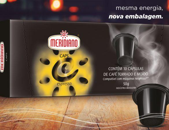 Meridiano Caps apresenta nova embalagem