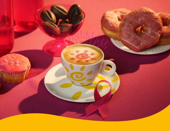 Outubro Rosa: conscientização e café lado a lado nessa luta