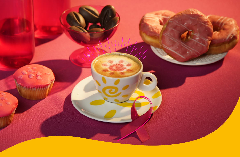 café meridiano e outubro rosa