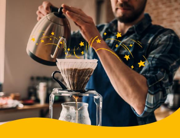 Onde a mágica acontece! Conheça os tipos de filtragem do café.