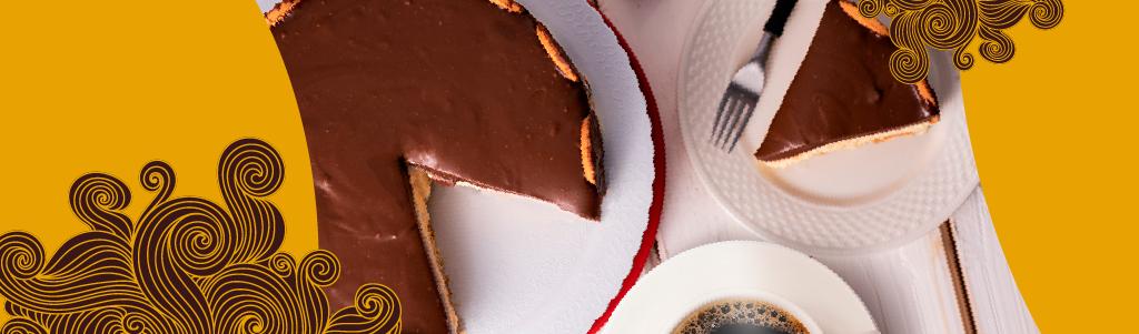 Aprenda a fazer torta holandesa com ganache de café
