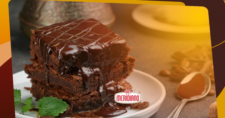 Hora da sobremesa: brownie de café delicioso!