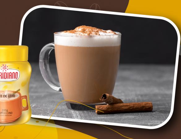 Cappuccino e doce de leite: uma combinação cheia de boas memórias