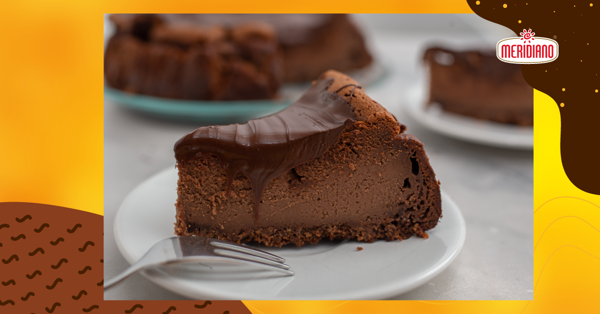 Receita de cheesecake de café e chocolate