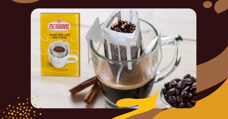 Drip Coffee: um filtro de café prático para todo dia