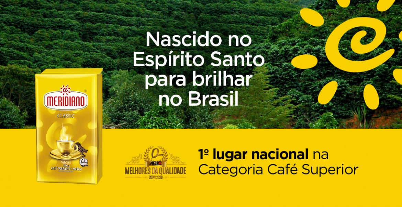 Meridiano Classic é o melhor café superior do Brasil